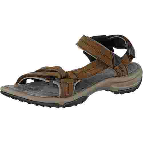 Teva Terra Fi Lite Leather Outdoorsandalen Damen braun