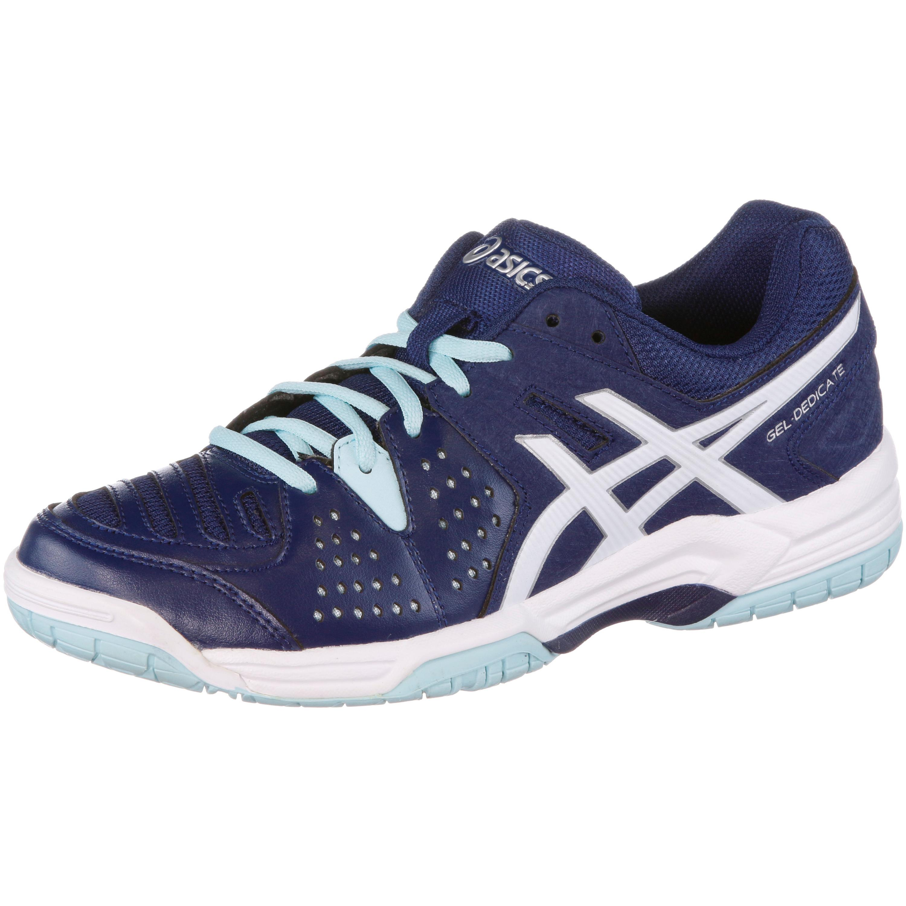 asics gel dedicate 4 damen preisvergleich tennisschuh g nstig kaufen bei. Black Bedroom Furniture Sets. Home Design Ideas