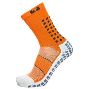 TruSox Mid-Calf Thin Stutzen Herren orange / schwarz