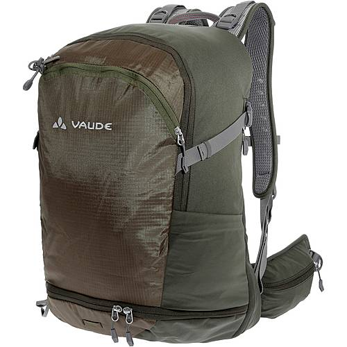 VAUDE Wizard 30+4 Wanderrucksack dunkelgrün