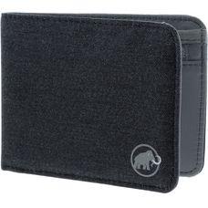 Mammut Flap Melange Geldbeutel schwarz