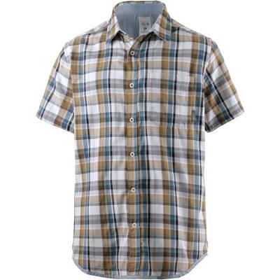 Mountain Hardwear Mcclatchy Kurzarmhemd Herren blau/braun