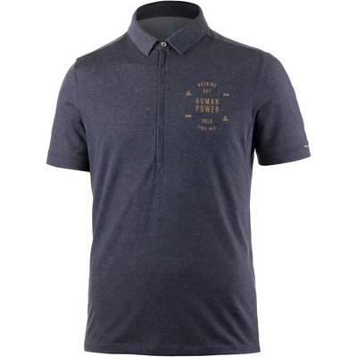 Odlo Classic Polo Funktionsshirt Herren blau