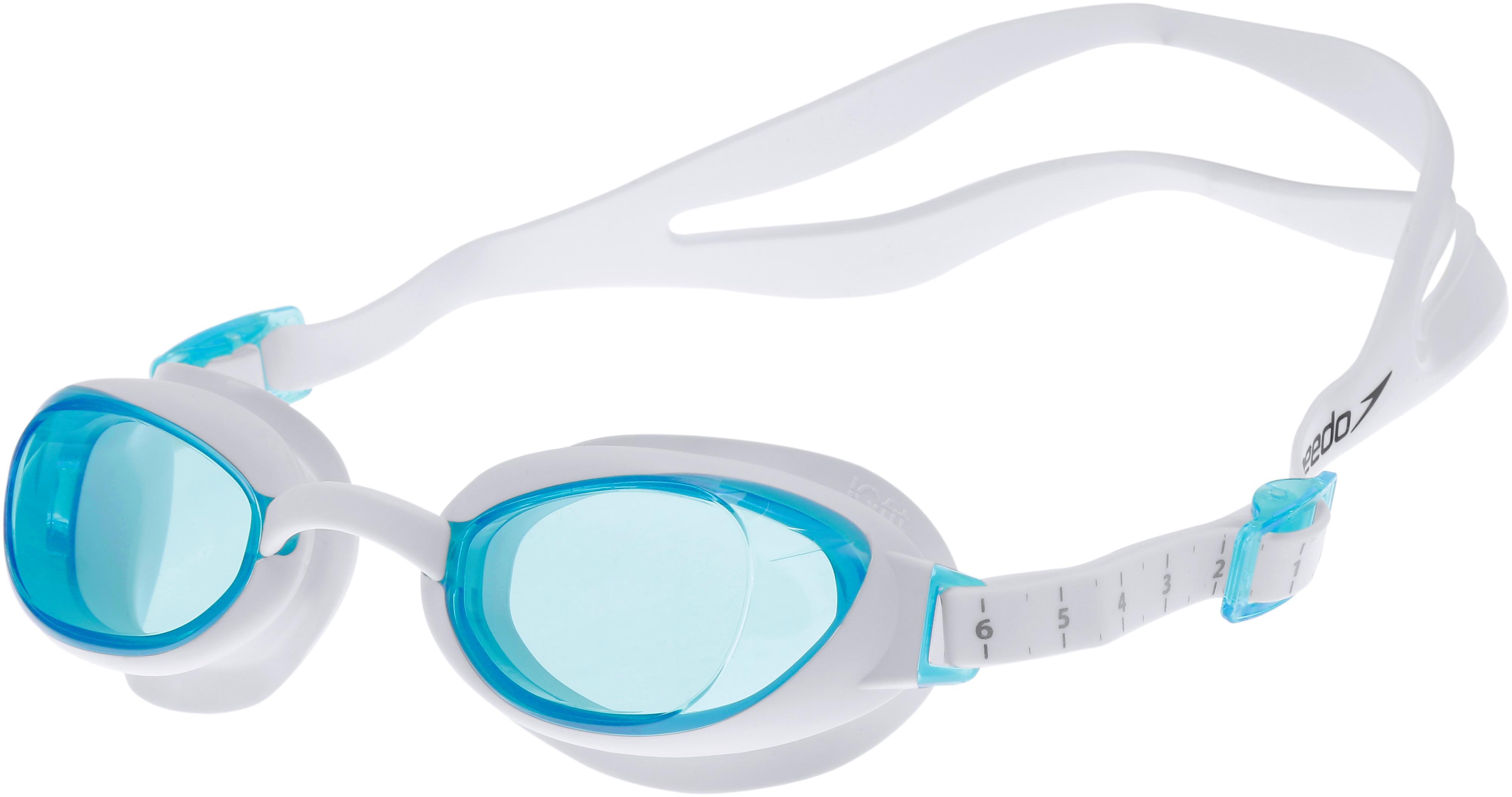 033c5c19dc0ed SPEEDO Aquapure Female Schwimmbrille weiß/blau im Online Shop von  SportScheck kaufen