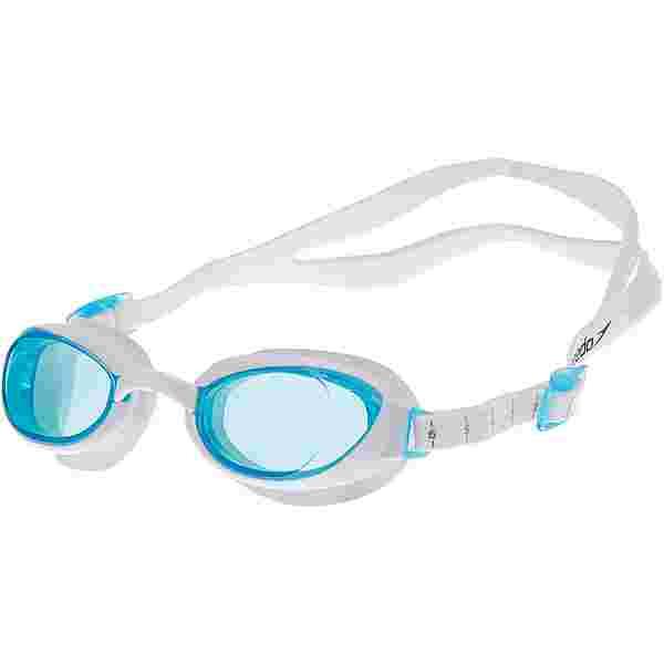 SPEEDO Aquapure Female Schwimmbrille weiß-blau