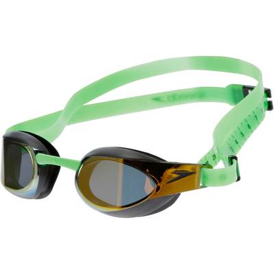 SPEEDO Elite Mirror Schwimmbrille gold
