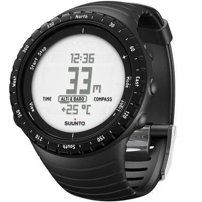 Suunto Core Regular Black Sportuhr schwarz