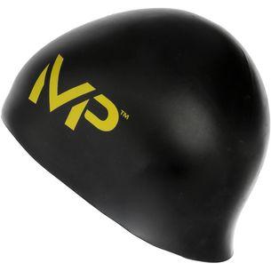 MP Michael Phelps Racecap Badekappe schwarz/gelb
