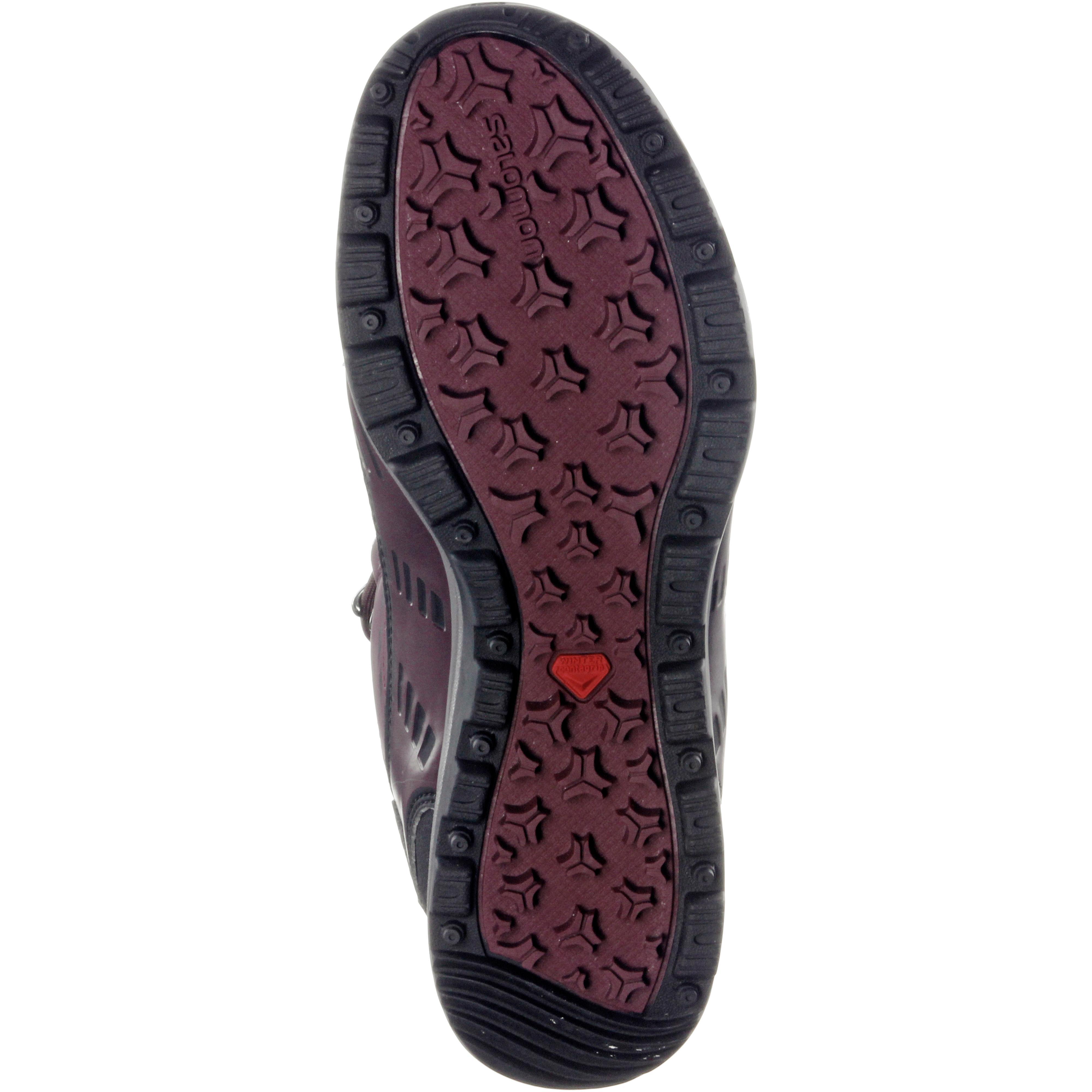 Salomon Kaina CS CS CS WP 2 Winterschuhe Damen bordeaux im Online Shop von SportScheck kaufen Gute Qualität beliebte Schuhe 22bcad