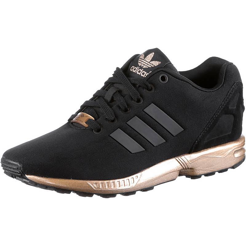 adidas schuhe damen zx flux schwarz gold