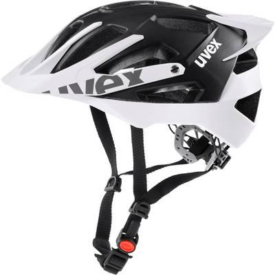 Uvex Helm Quattro Pro Fahrradhelm schwarz/weiß