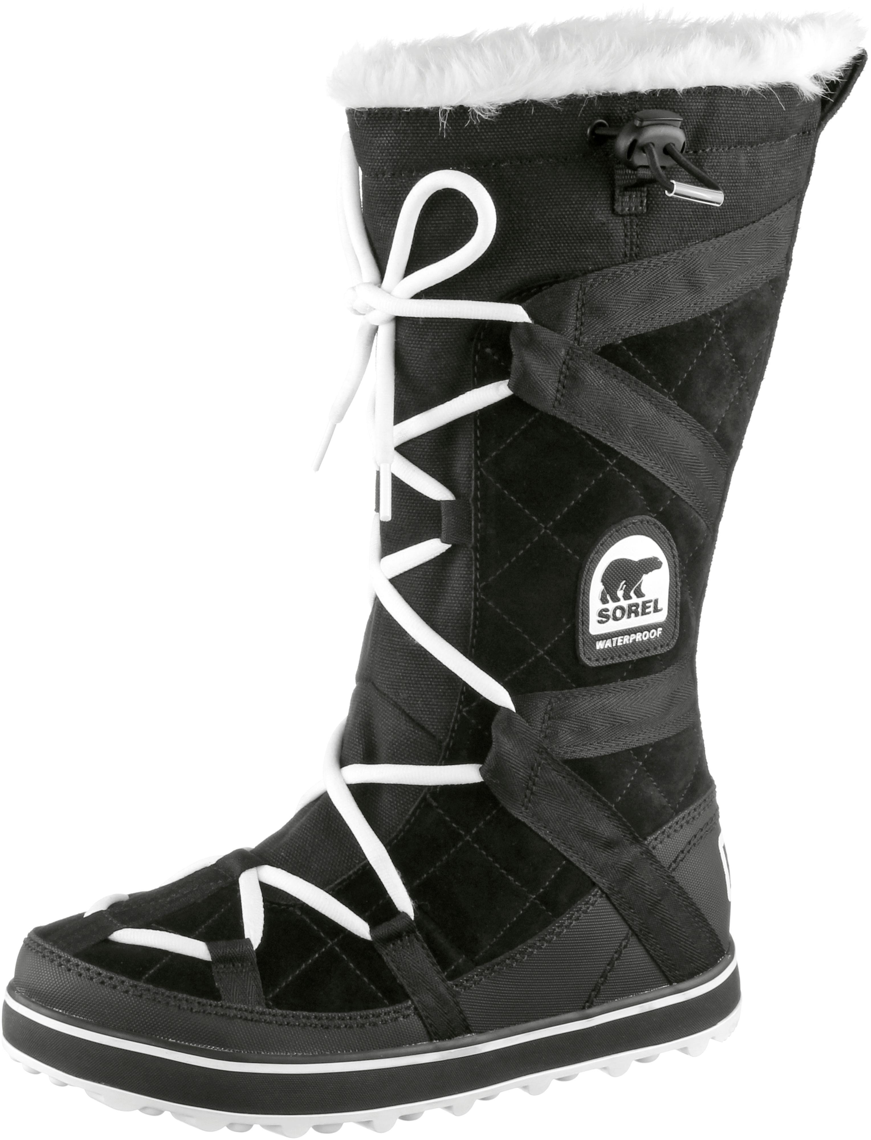 Sorel Glacy Explorer Stiefel Damen schwarz/weiß im Online Shop von SportScheck kaufen Gute Qualität beliebte Schuhe