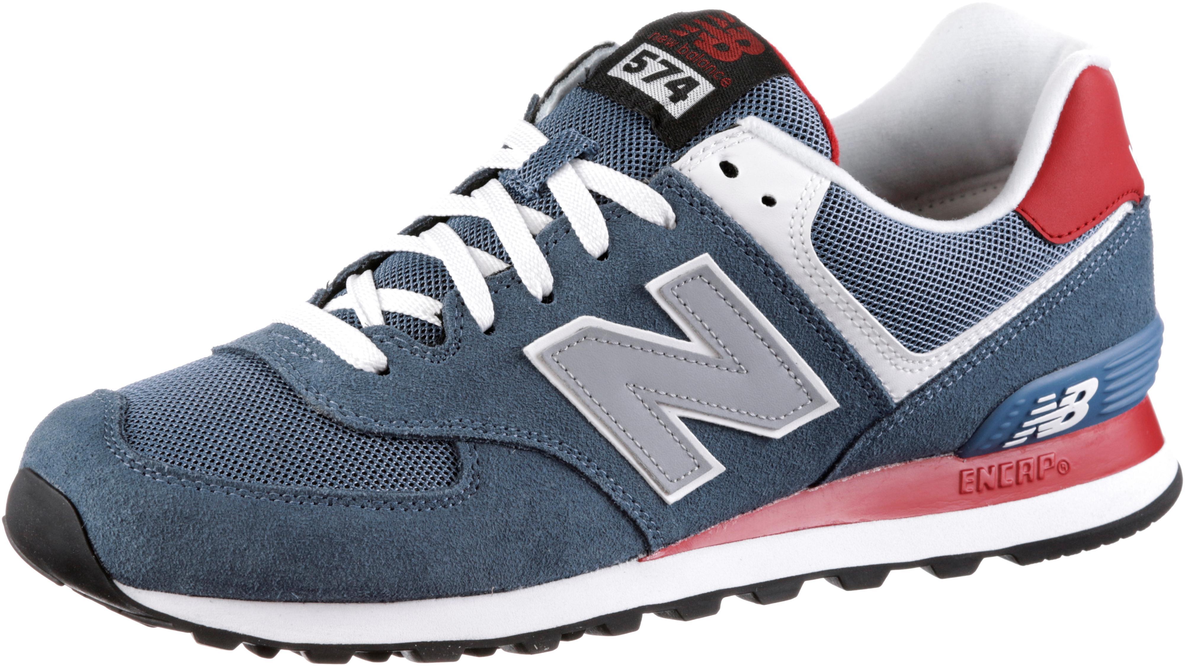 best website 939bf cfc87 NEW BALANCE ML 574 Sneaker Herren blau/rot im Online Shop von SportScheck  kaufen