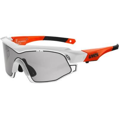 Uvex Sportbrille white orange