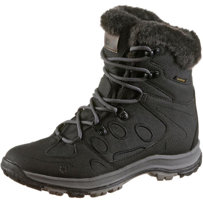 Jack Wolfskin Thunder Bay Texapore Mid Boots Damen, schwarz,Größen: 35 1/2, 36, 37 1/2, 37, 39, 39 1/2, 40 1/2, 41, 42, 42 1/2, 43