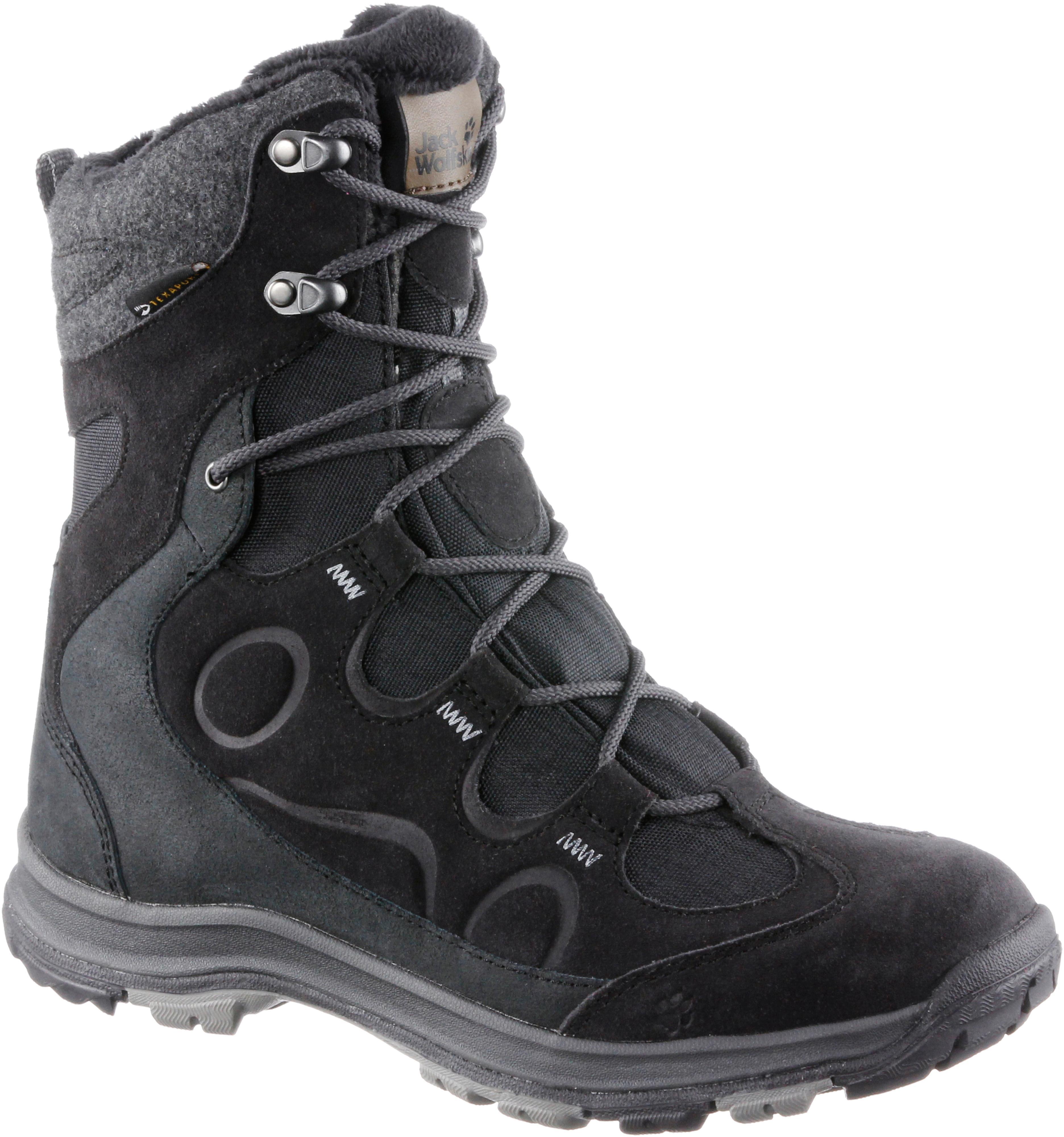brand new 16708 2f2f3 Jack Wolfskin Thunder Bay Texapore High Boots Damen schwarz im Online Shop  von SportScheck kaufen