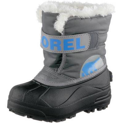 Sorel Snow Commander Winterschuhe Kinder grau