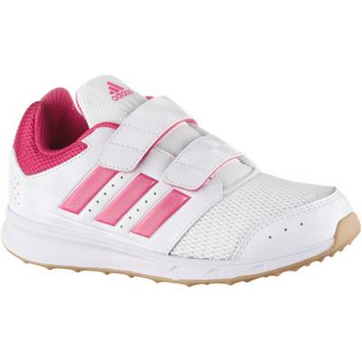adidas LK Sport Hallenschuhe Kinder weiß/rosa
