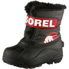 Sorel Snow Commander Winterschuhe Kinder schwarz