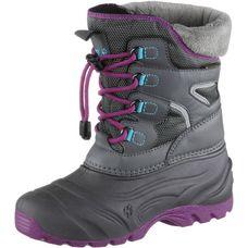 Jack Wolfskin Snow Fairy Boots Kinder anthrazit/pink