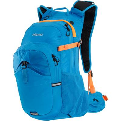 Source Paragon 3 + 22L Trinkrucksack blau