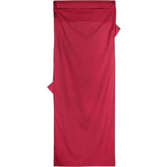COCOON TravelSheet Inlett monk's red