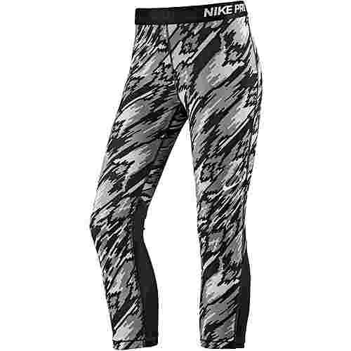 287488654358d5 Nike Pro Dry Fit Tights Damen schwarz grau im Online Shop von ...