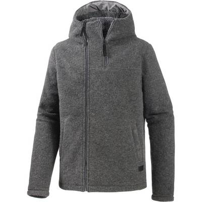 Bench Fleecejacke Herren anthrazit melange