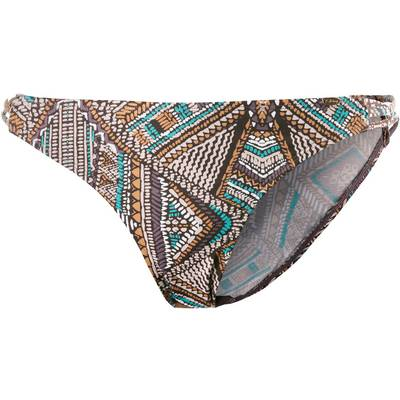 Skiny African Tribe Bikini Hose Damen braun/türkis