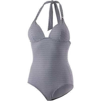 ESPRIT Jensen Beach Badeanzug Damen marine/weiß