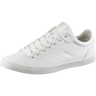 hummel Deuce Court Tonal Sneaker Herren weiß