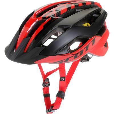 SCOTT ARX Plus Fahrradhelm rot schwarz