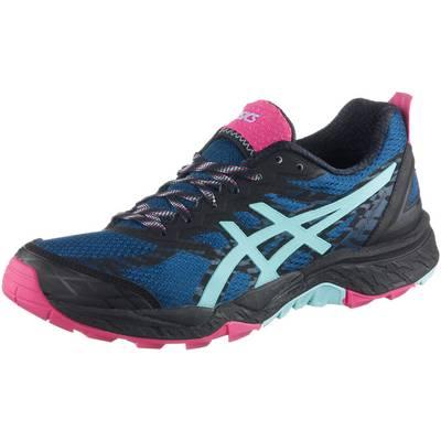 ASICS Gel-FujiTrabuco 5 Laufschuhe Damen blau/mint/pink