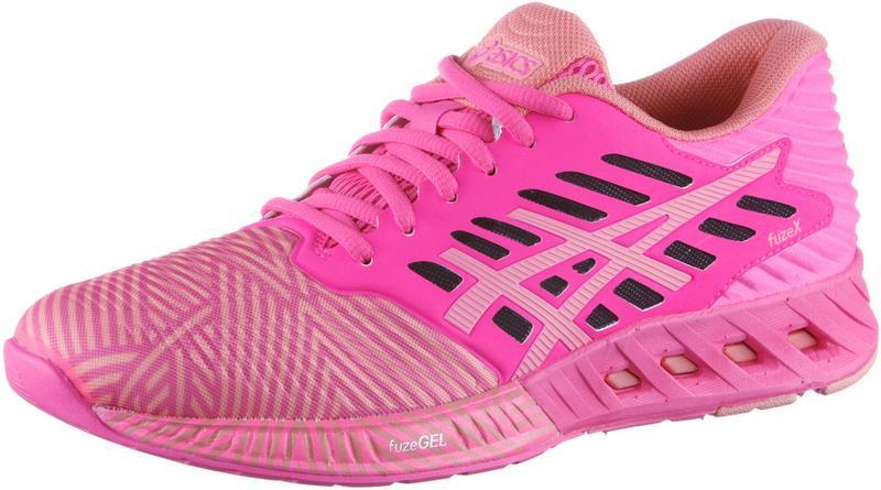 ASICS fuzeX Laufschuhe Damen, pink/koralle,Größen: 37 1/2, 42, 43 1/2