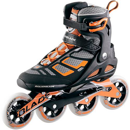 ROLLERBLADE Macroblade 100 Fitness Skates Herren schwarz/orange