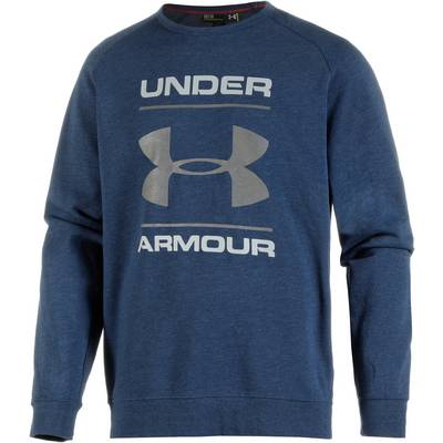 Under Armour ColdGear Triblend Funktionssweatshirt Herren blau