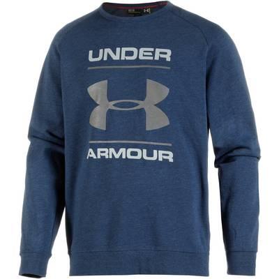 Under Armour ColdGear Triblend Funktionssweatshirt Herren blau