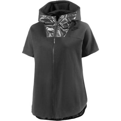 Nike Advanced Sweatjacke Damen schwarz