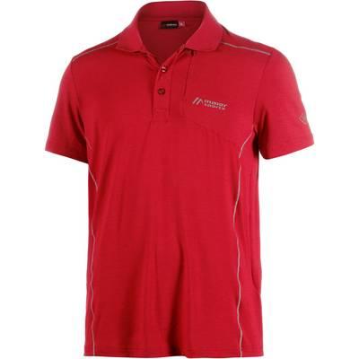 Maier Sports Marten Poloshirt Herren rot