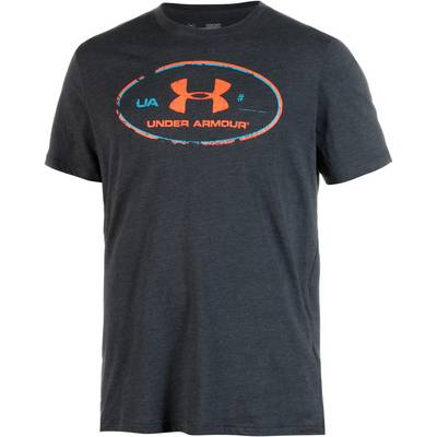 Under Armour HeatGear Lockertag T-Shirt Herren grau