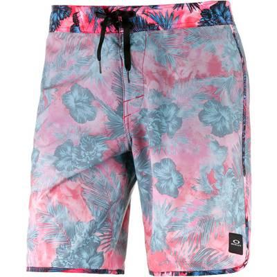 Oakley Transducer Shorts Herren rot/allover