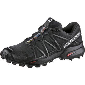 Salomon SPEEDCROSS 4 Trailrunning Schuhe Damen schwarz