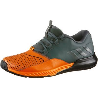 adidas One Trainer Bounce Fitnessschuhe Herren oliv/orange