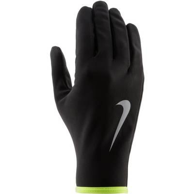 Nike Leightweight Rival Laufhandschuhe Herren BLACK/VOLT/SILVER