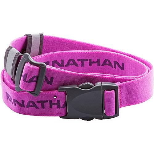 NATHAN Startnummerngurt pink