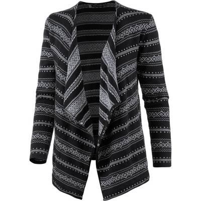 Volcom Disclosed Strickjacke Damen schwarz/grau