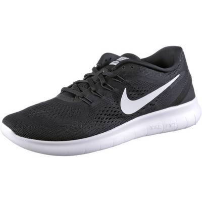 Nike Free Run Laufschuhe Herren schwarz/weiß