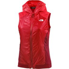 The North Face Kukyo Outdoorweste Damen rot/weinrot