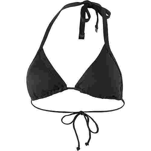 Seafolly Slide Tri Bikini Oberteil Damen schwarz