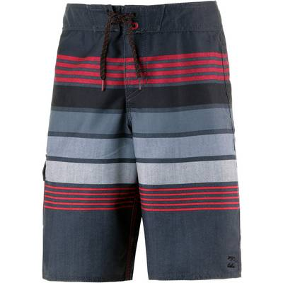 Billabong Boardshorts Kinder schwarz/rot